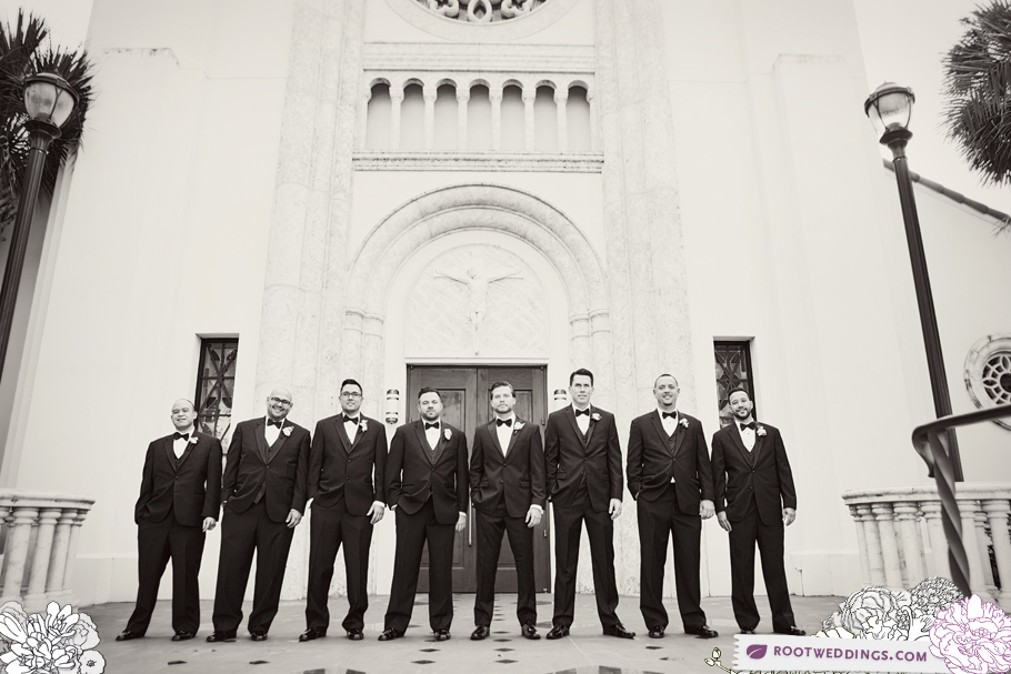 Downtown Orlando St. James Cathedral Wedding