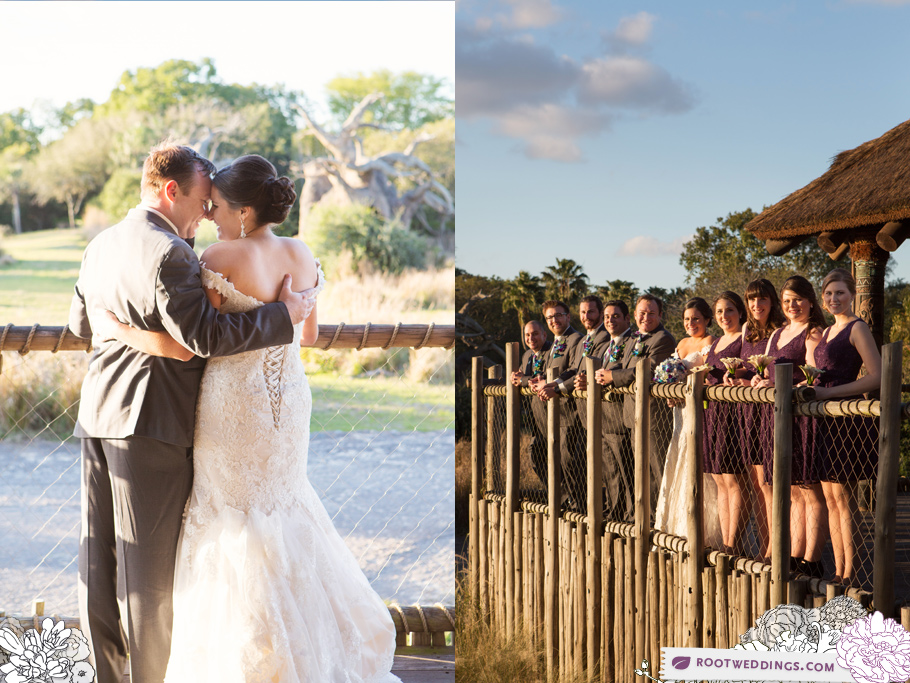Disney Animal Kingdom Wedding Kilimanjaro Safaris