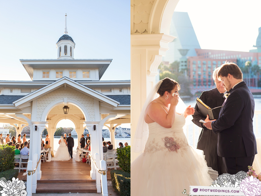 Disney Boardwalk Inn Wedding Sea Breeze Point
