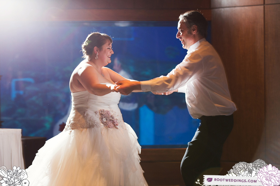 Disney Epcot Wedding Reception Living Seas Salon