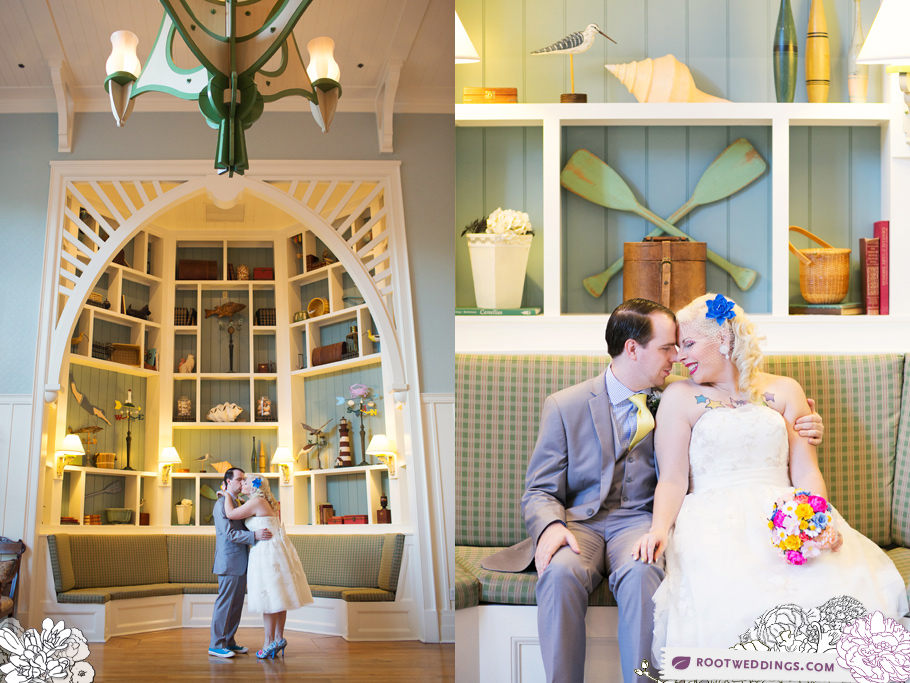 Walt Disney World Yacht Club Gazebo Wedding