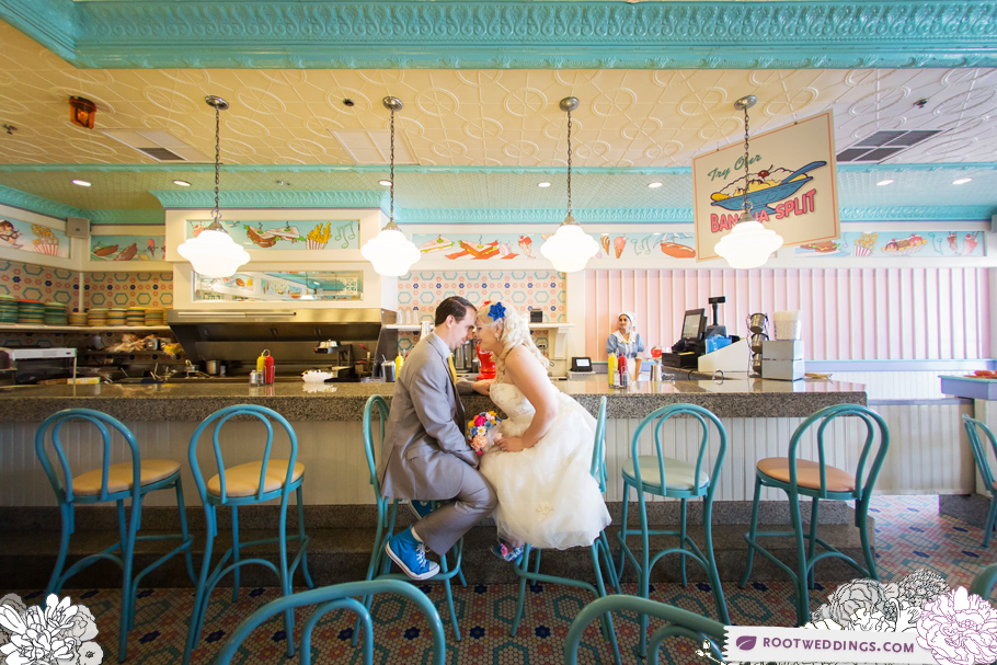 Beaches and Cream Disney Wedding