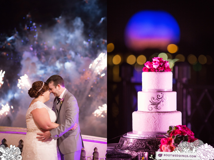Sea Breeze Point Wedding and Epcot Italy Reception