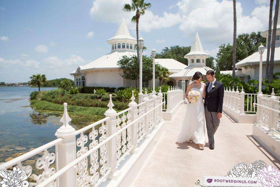 Grand Floridian Wedding Pavilion Beach Club Ariel's 013