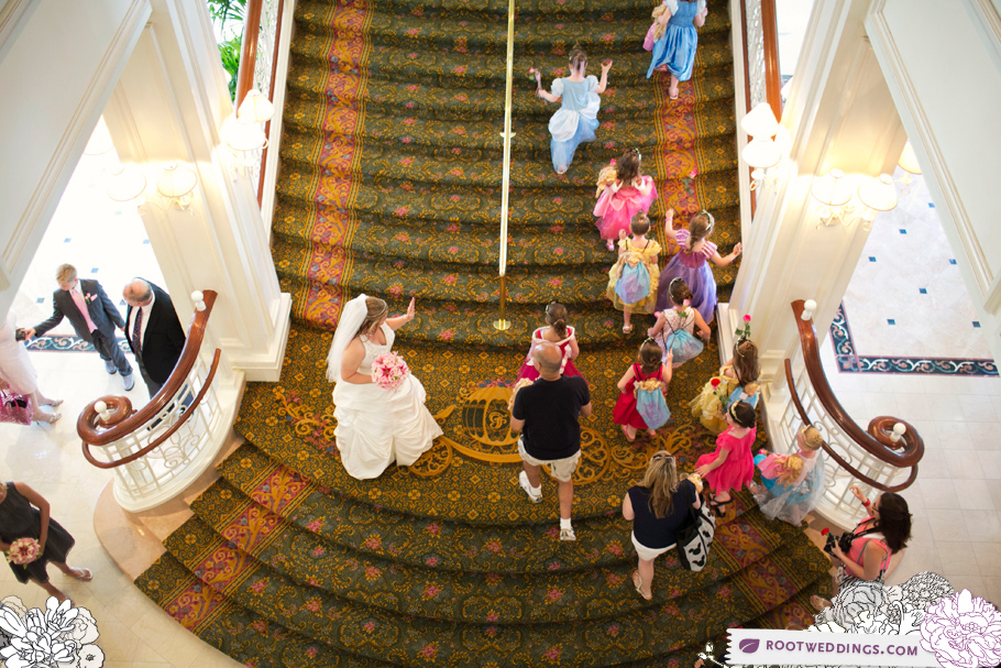 Same Sex Disney Wedding Grand Floridian Atlantic Dance Hall _011