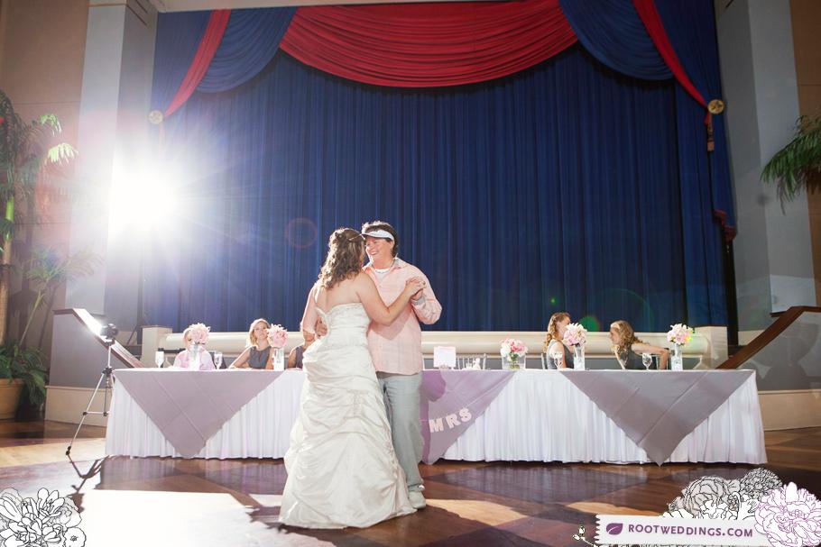 Same Sex Disney Wedding Grand Floridian Atlantic Dance Hall _024
