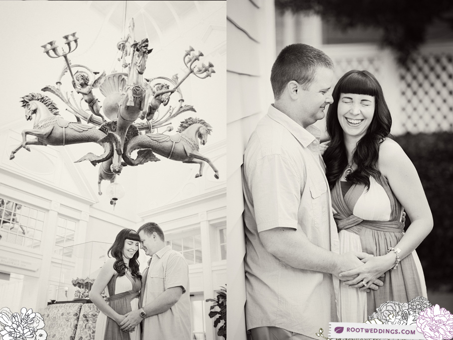 Disney Boardwalk Inn Maternity Session 004