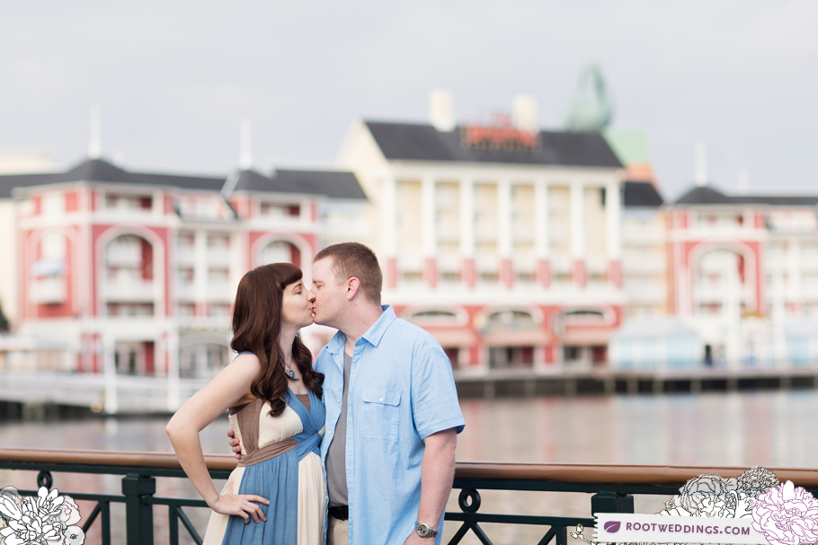 Disney Boardwalk Inn Maternity Session 006