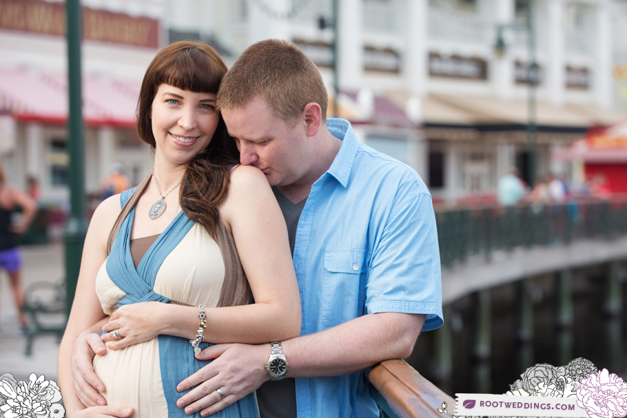 Disney Boardwalk Inn Maternity Session 007