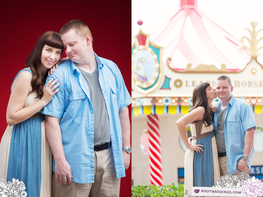 Disney Boardwalk Inn Maternity Session 010