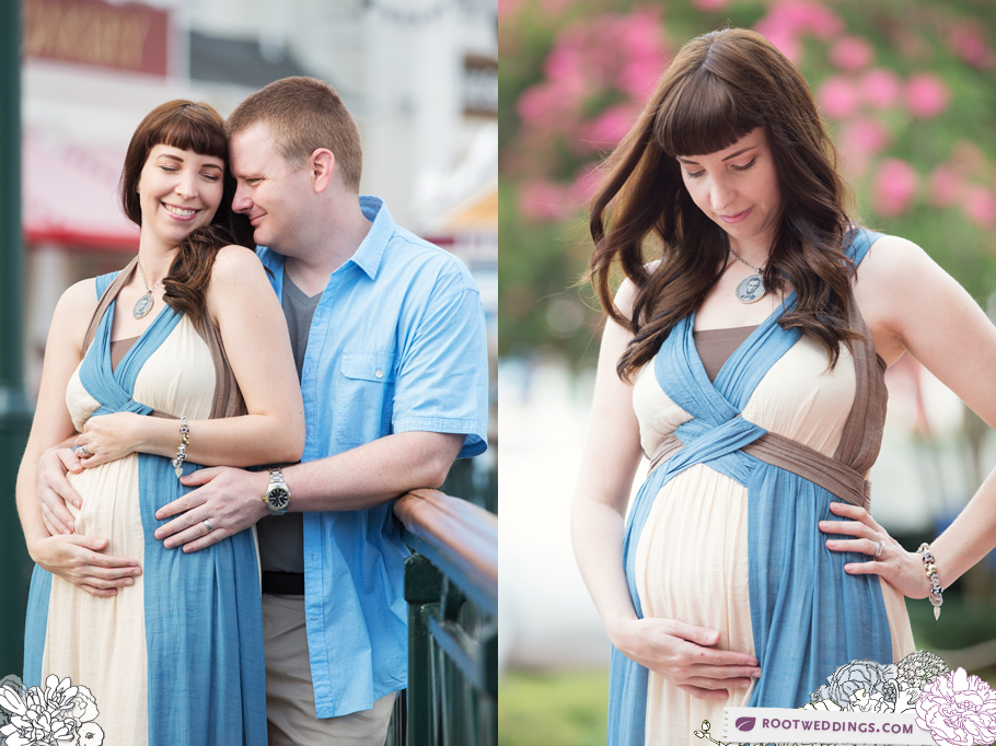 Disney Boardwalk Inn Maternity Session 012
