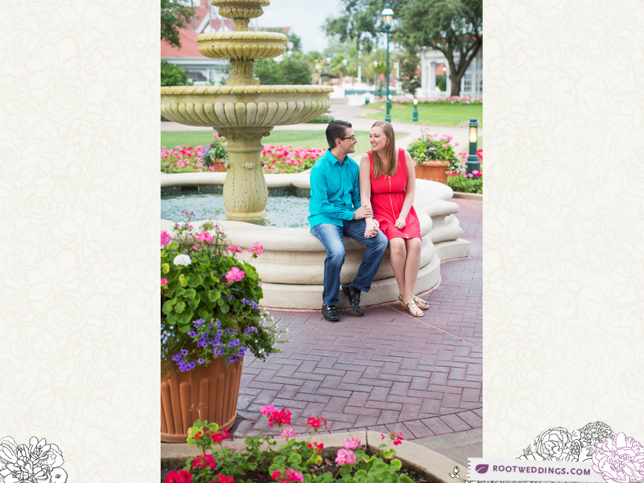 Disney Grand Floridian Engagement Session 001