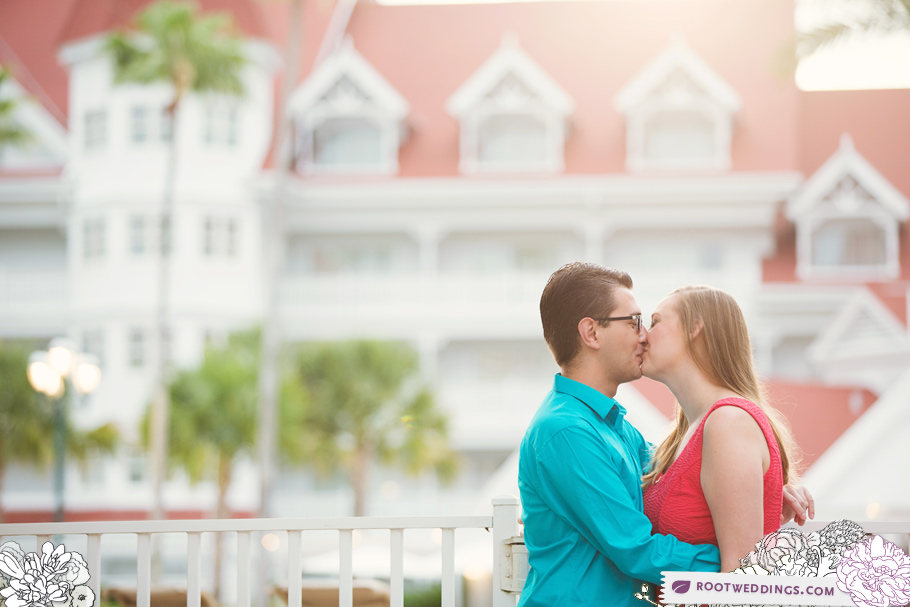 Disney Grand Floridian Engagement Session 003