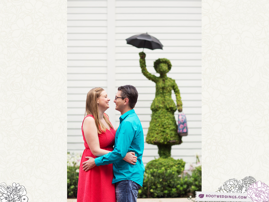 Disney Grand Floridian Engagement Session 009