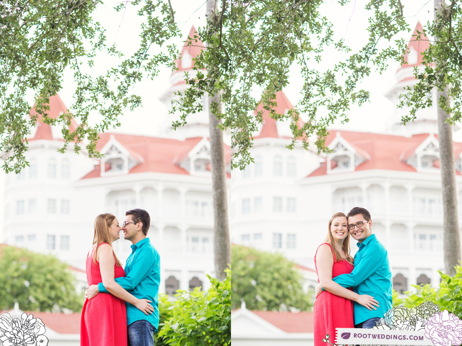 Disney Grand Floridian Engagement Session 010