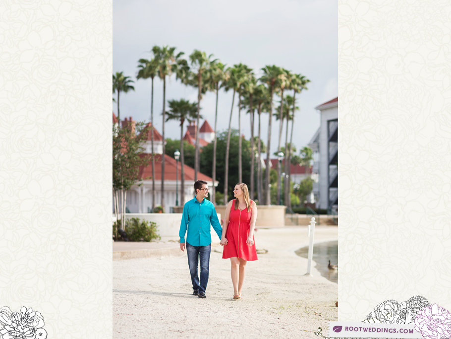 Disney Grand Floridian Engagement Session 012