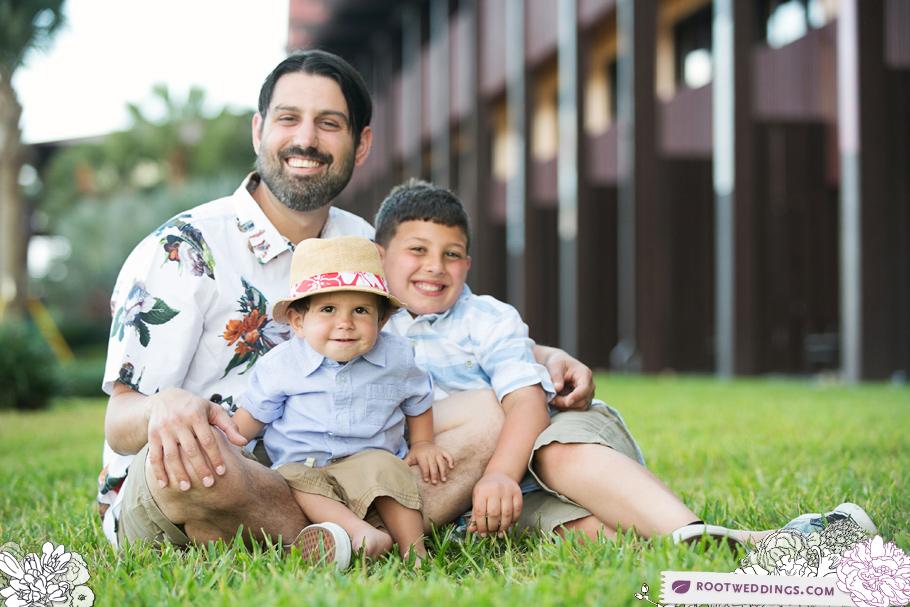 Disney Polynesian Village Resort Family Session004