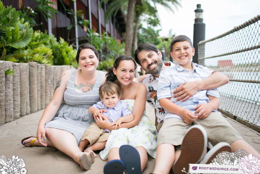 Disney Polynesian Village Resort Family Session019
