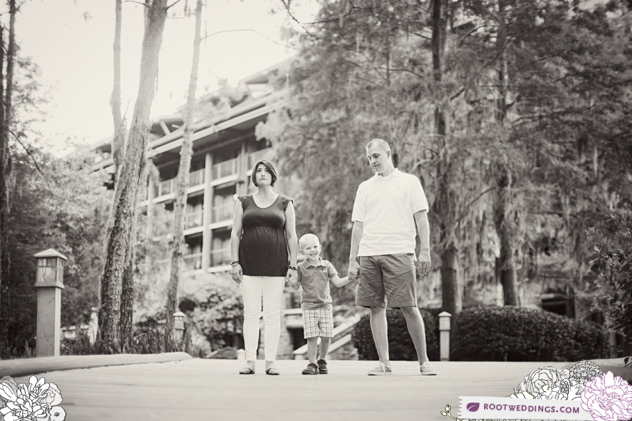 Disney Wilderness Lodge Family Session Photographer 007