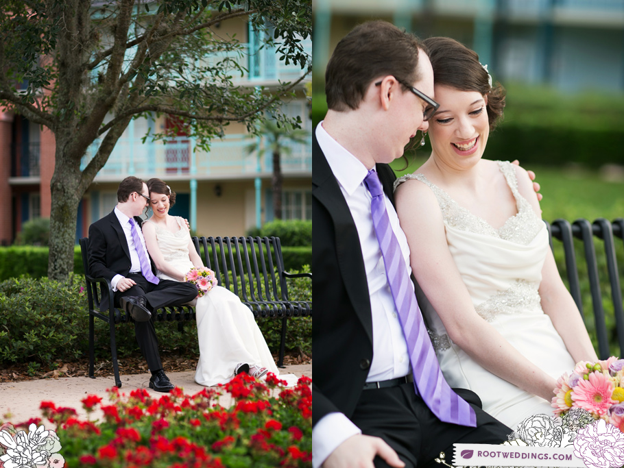 Disney Boardwalk Inn Sea Breeze Point Escape Wedding 12