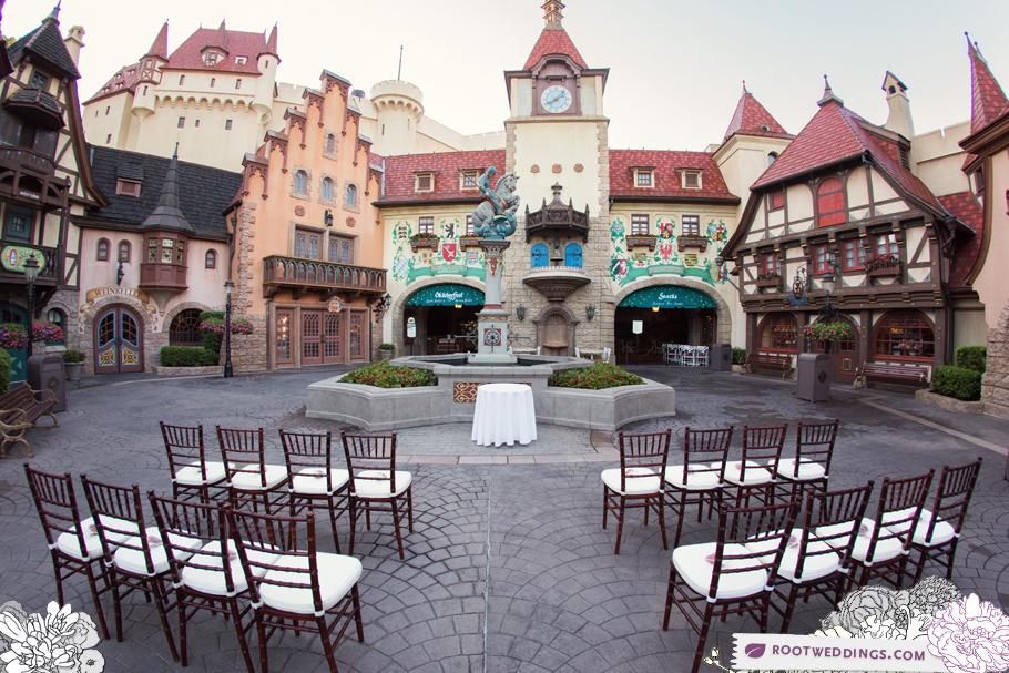 Disney Epcot Germany Wedding 008