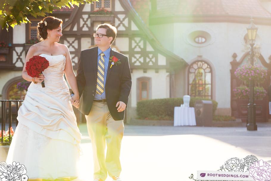 Disney Epcot Germany Wedding 010