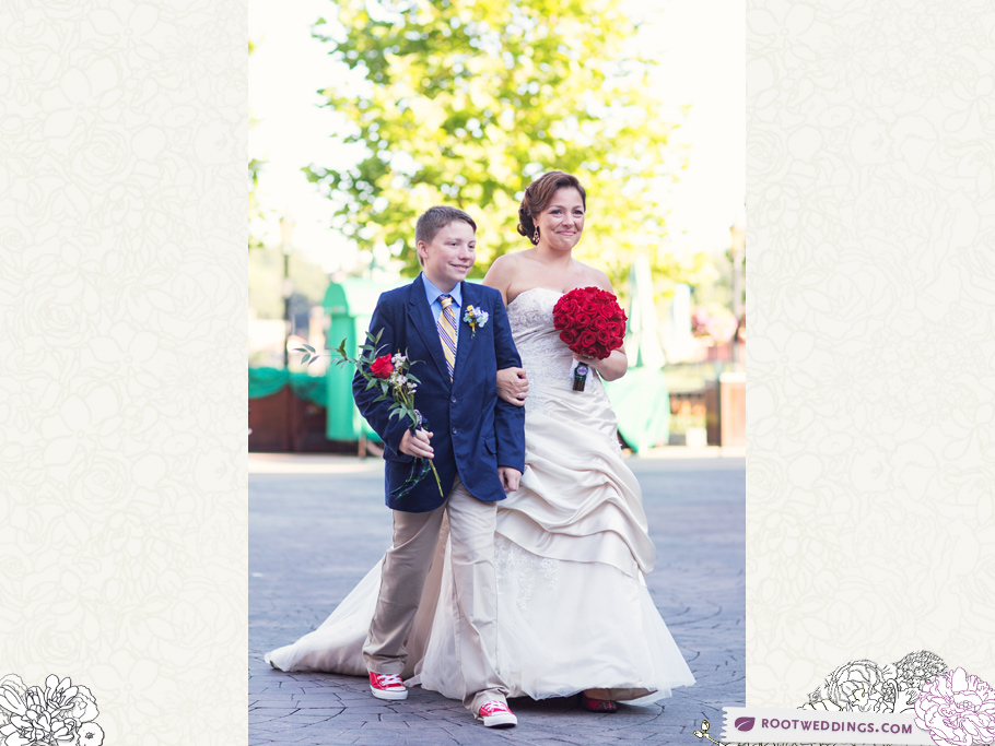 Disney Epcot Germany Wedding 011