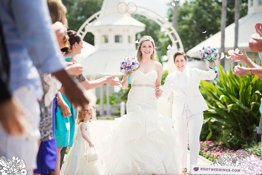 Disney World Same Sex Wedding Grand Floridian 033