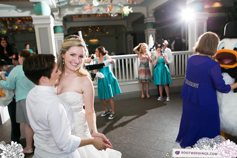 Disney World Same Sex Wedding Grand Floridian 045