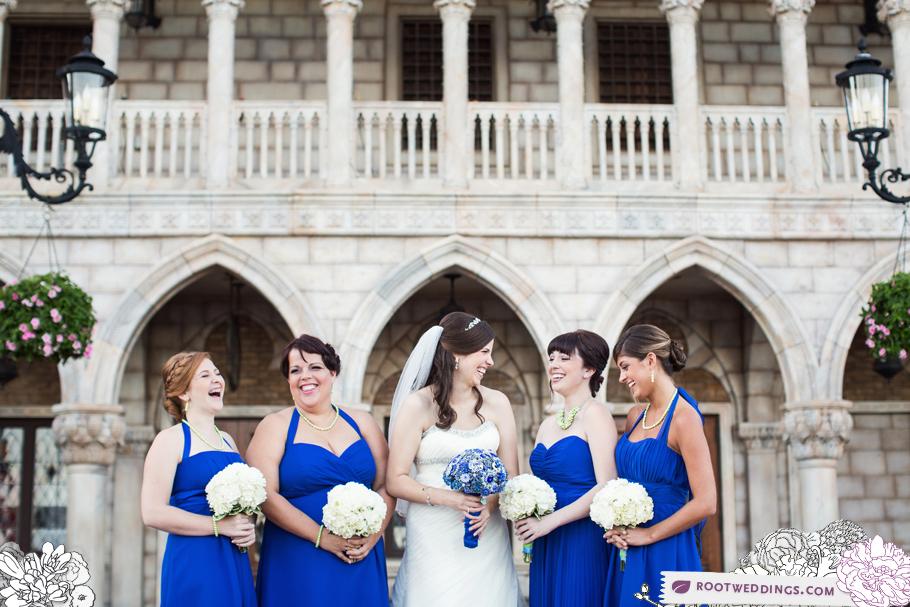 Disney Epcot Italy Wedding Atlantic Dance Hall Reception 12