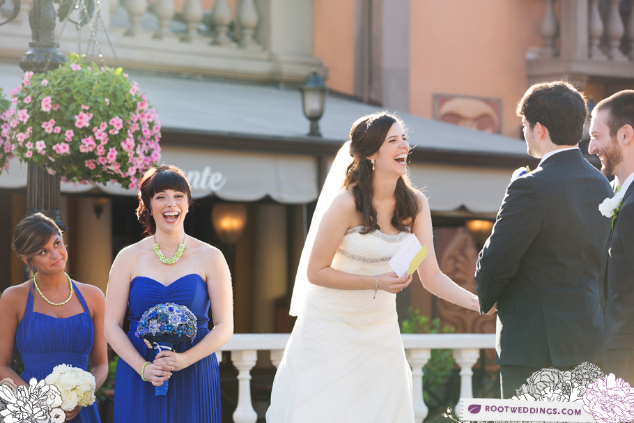 Disney Epcot Italy Wedding Atlantic Dance Hall Reception 26