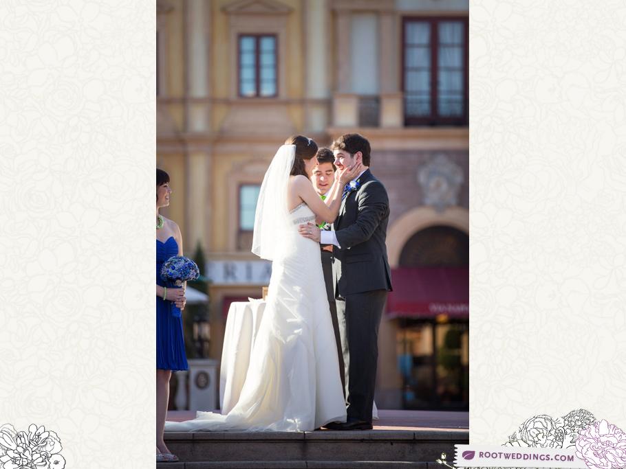 Disney Epcot Italy Wedding Atlantic Dance Hall Reception 28