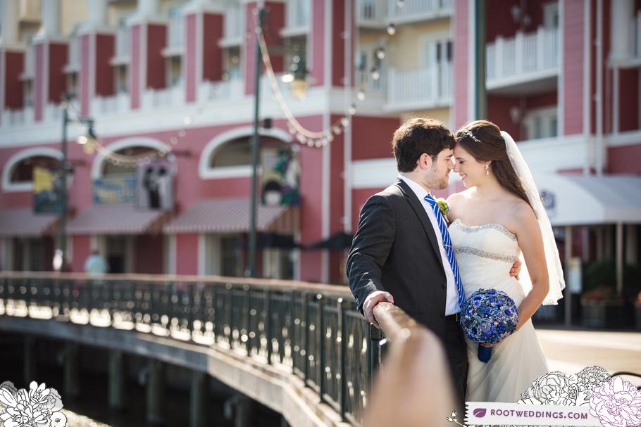 Disney Epcot Italy Wedding Atlantic Dance Hall Reception 36