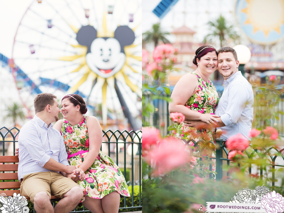 Disneyland Engagement Session Photographer 07