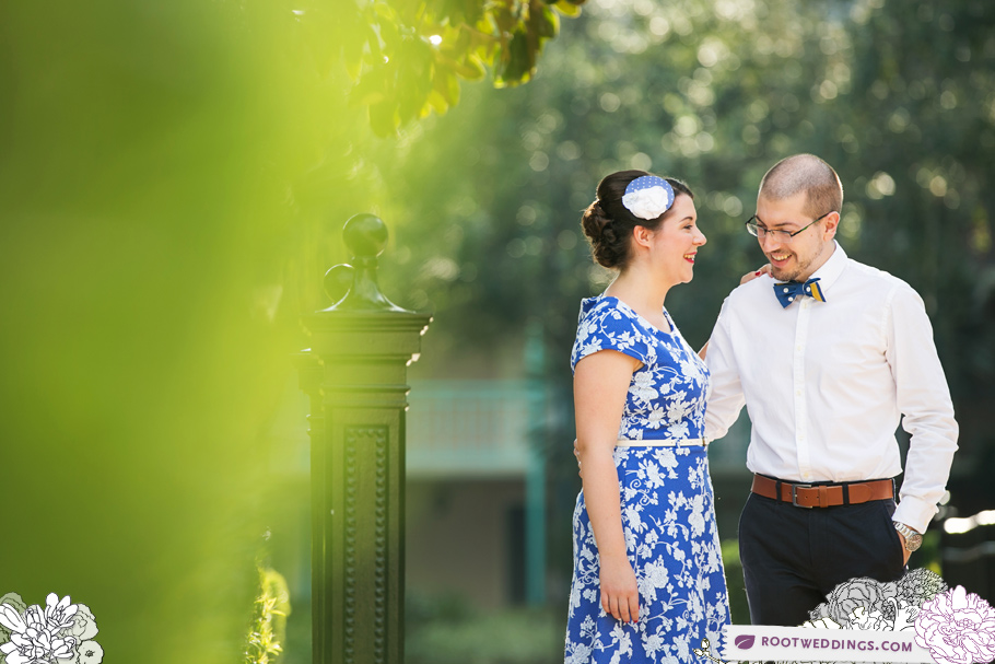 Port Orleans Riverside Engagement Session 001