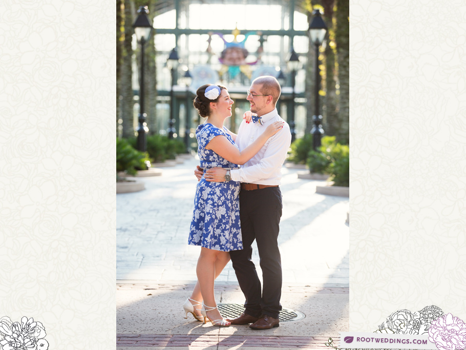 Port Orleans Riverside Engagement Session 007