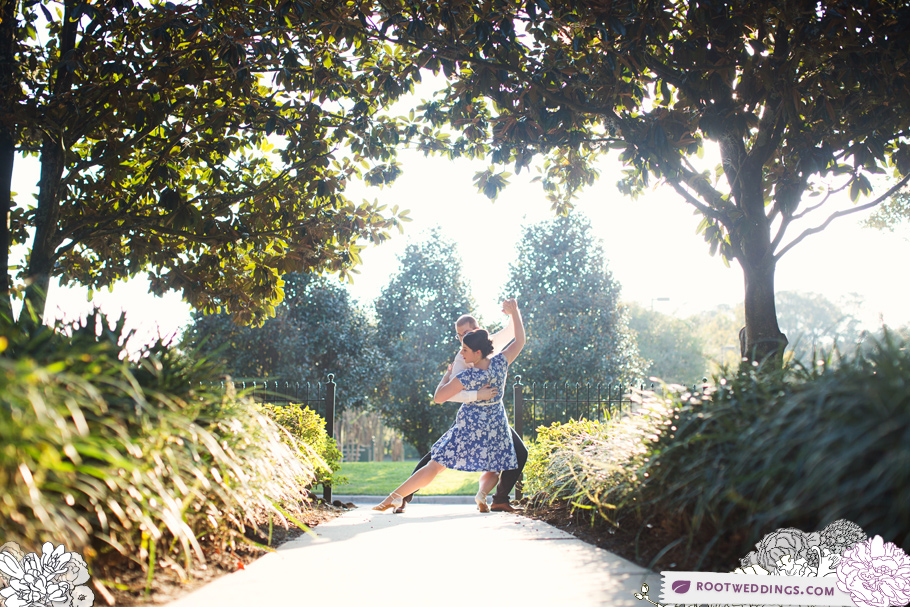 Port Orleans Riverside Engagement Session 010